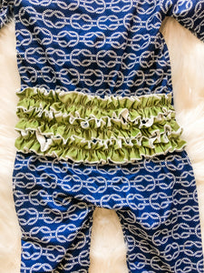 Nautical Knots Girls Layette