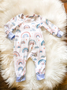 Over The Rainbow Romper - Long Sleeve