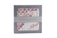 Load image into Gallery viewer, Mermaids and Scales Newcastle Blanket