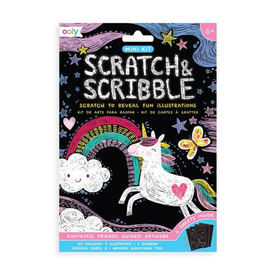 Ooly Collection - Scratch & Scribble Art Kits