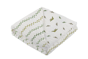 Dino Feet and Pteranodon Newcastle Blanket