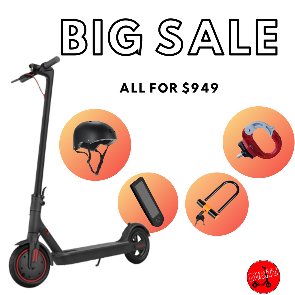 BUNDLE Xiaomi M365 PRO Electric Scooter