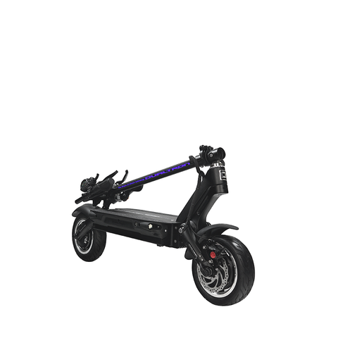 dualtron III electric scooter dubitz scooters folded