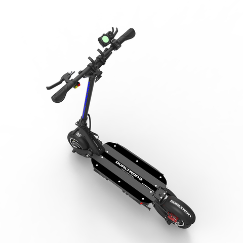 dualtron III electric scooter dubitz scooters top view