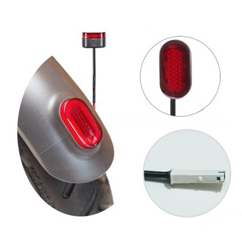 Rear Tail Light for Xiaomi M365/ M365 Pro Electric Scooter