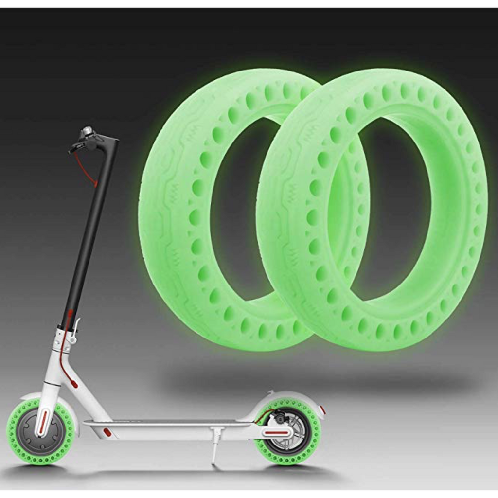 Luminous Fluorescent Solid Tyre for Xiaomi M365/ M365 Pro Electric Scooter