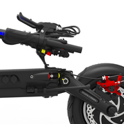 dualtron thunder electric scooter dubitz scooters brakes
