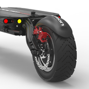 dualtron thunder electric scooter dubitz scooters rear wheel