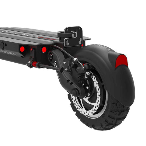 dualtron ultra electric scooter dubitz scooters rear wheel
