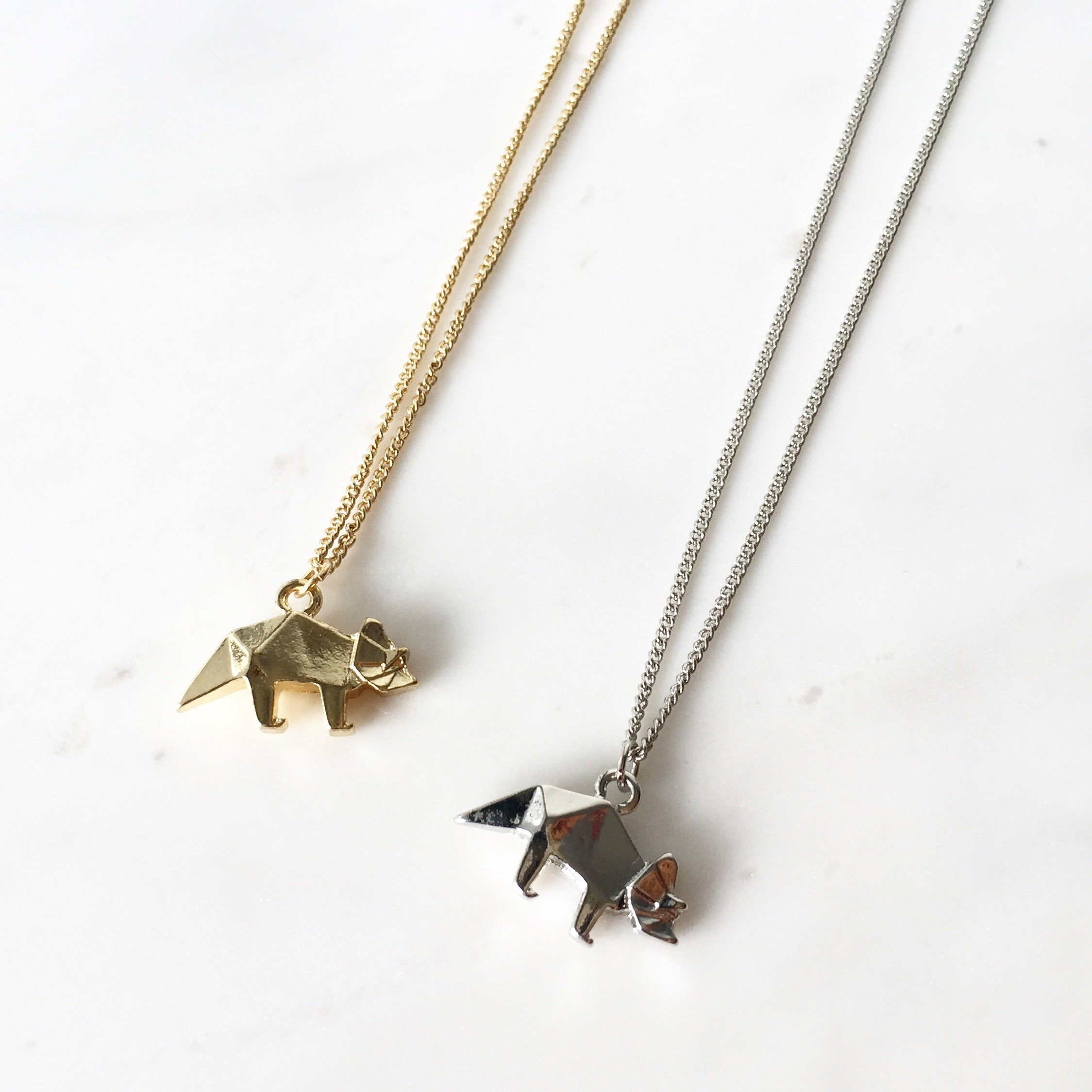 Triceratops Necklace