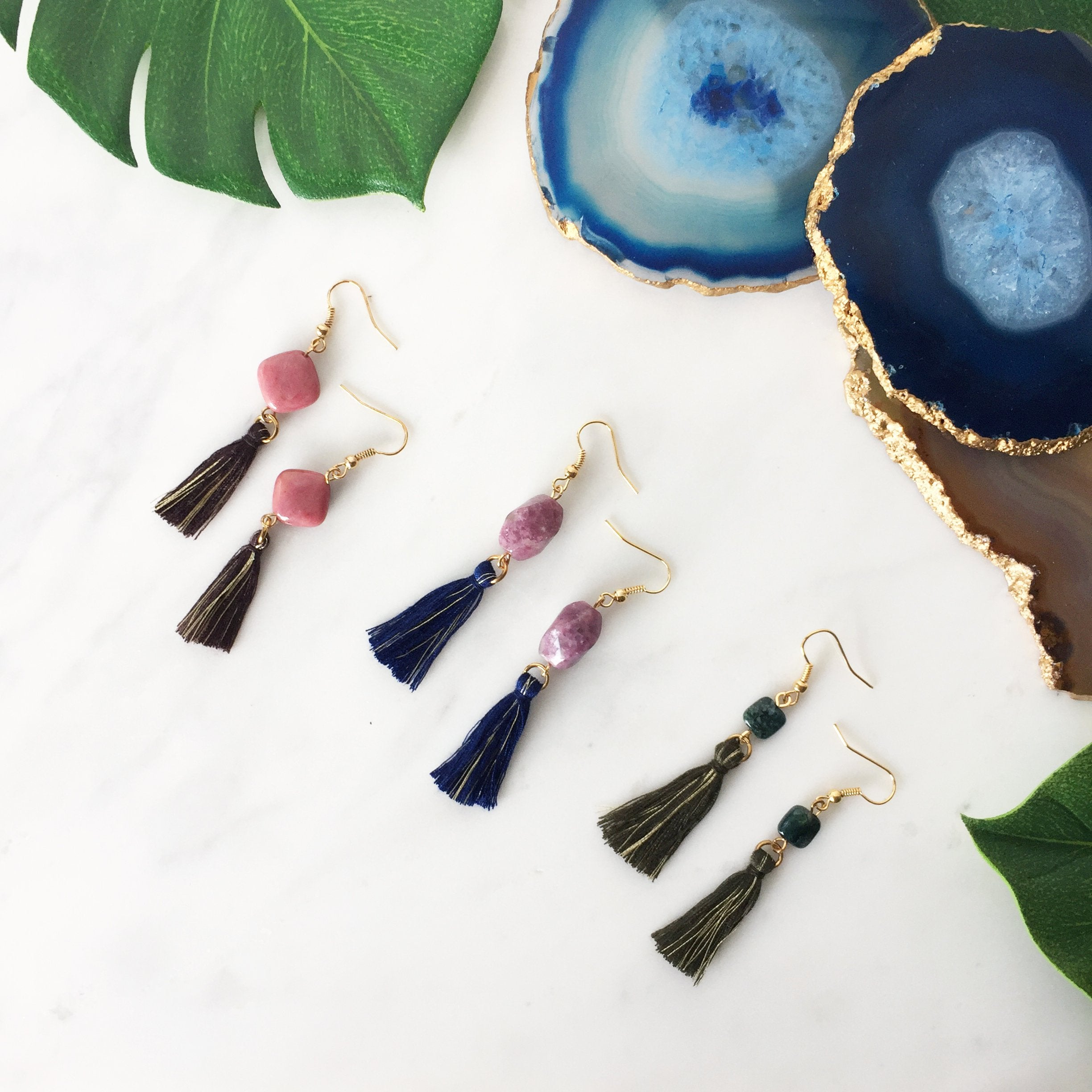 Zarrah Tassel Earrings