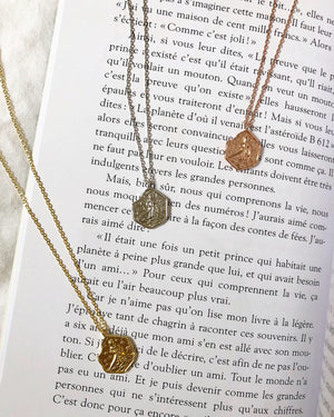 Le Petit Prince Necklace in Silver