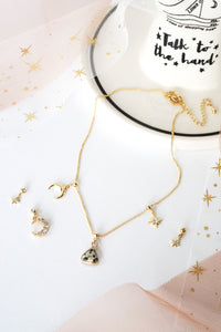 Starlight Multi-Way Necklace (Customisable) - Dalmatian Jasper