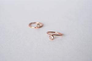 Cerise Ring - Rose Quartz