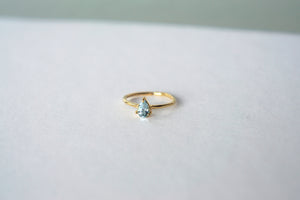 Primrose Ring - Blue Topaz