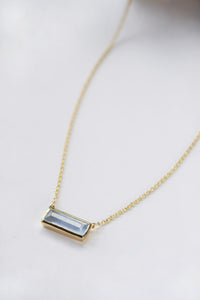 Prism Necklace - Blue Calci
