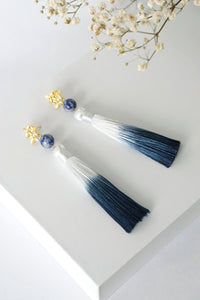 Chinoise Earrings - Sodalite