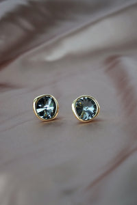 Chaleur Earrings in Gold - Silver Night