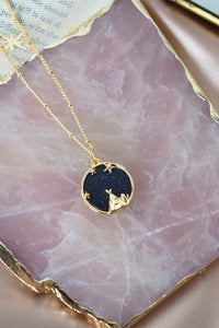 Starry Night Necklace in Gold - Joshua Tree