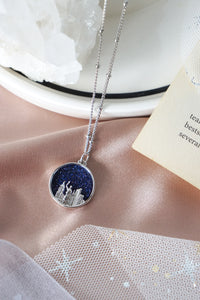 Starry Night Necklace in Silver - City Girl