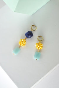 Tutti Frutti Earrings - Amazonite