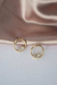Lagune Earrings in Gold