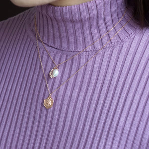 Le Petit Prince Necklace in Rose Gold