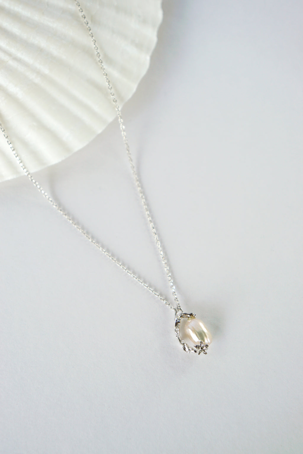 Under The Sea Necklace in Silver