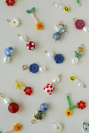 Fiori Charms - Blue