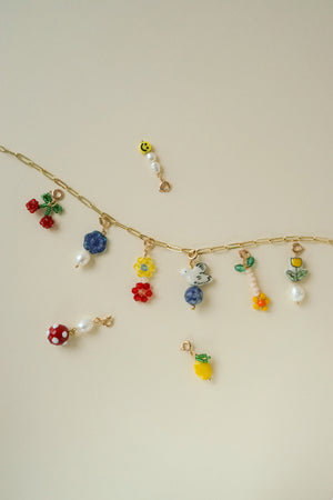 Garden Party Necklace (Set of 15 Charms)