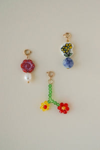 Flower Power Charms (Set of 3)