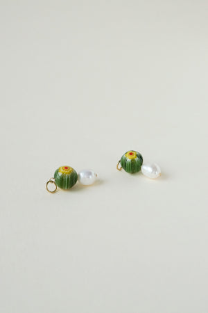 Fiori Charms - Green