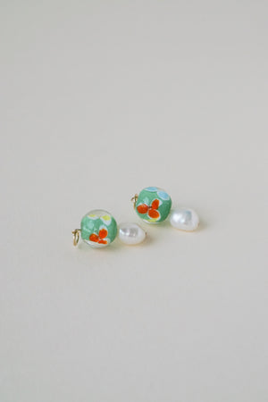 Poppy Charms - Green