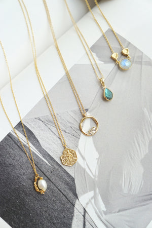 Lagune Necklace in Gold
