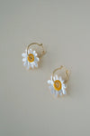 Daisy Hoops - Mother Of Pearl (Backorder)
