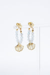 Cappella Earrings - Moonstone