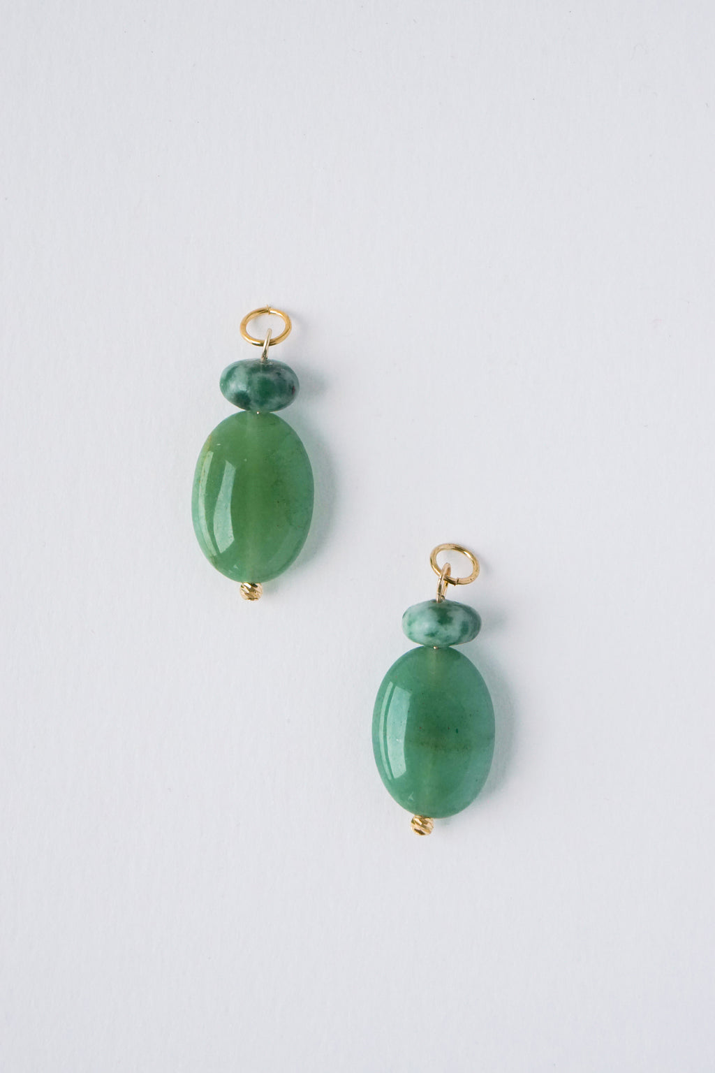 Sequoia Charms - Green Aventurine x African Jade