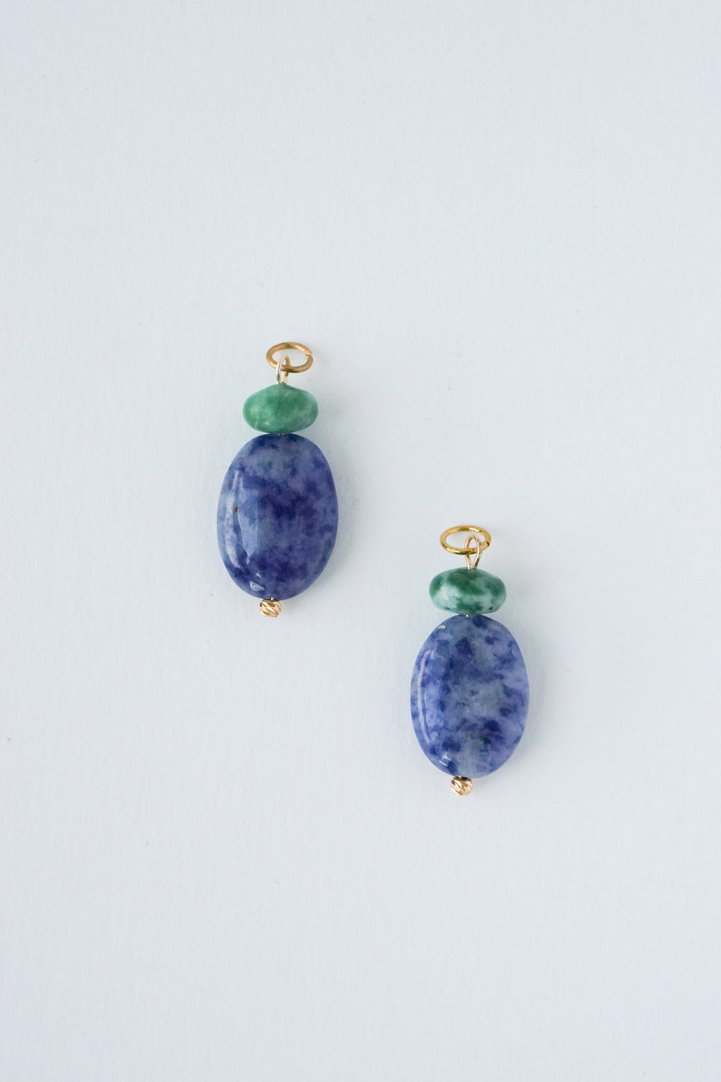 Sequoia Charms - Sodalite x African Jade
