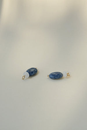 Sequoia Charms - Sodalite x White Jade