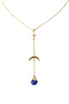 In The Sky With Diamonds Necklace - Lapis Lazuli