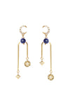 Written In The Stars Earrings - Lapis Lazuli
