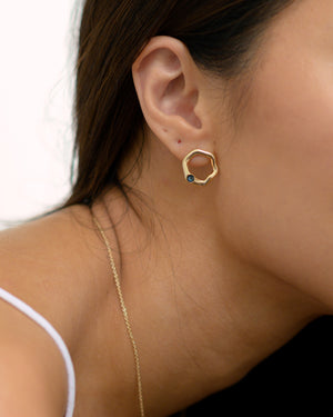 Debbie Earrings in Gold - Montana