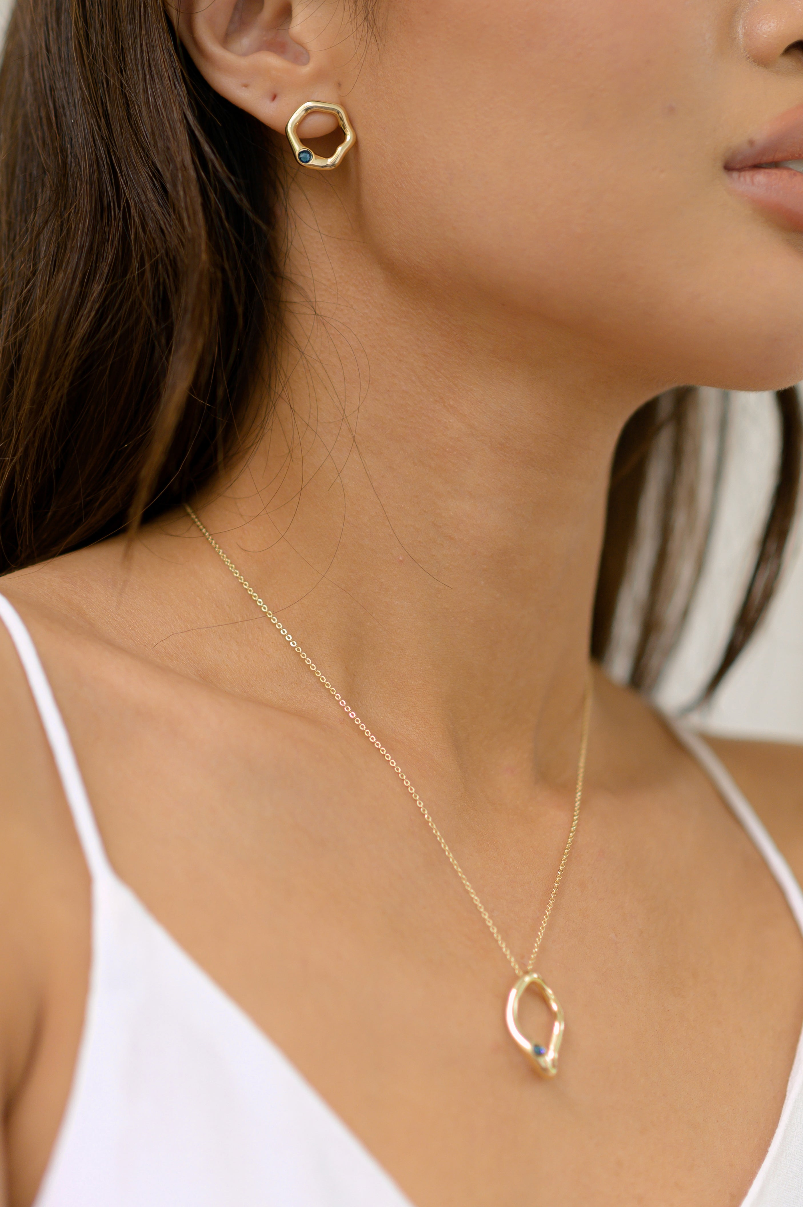 Francoise Necklace in Gold - Montana