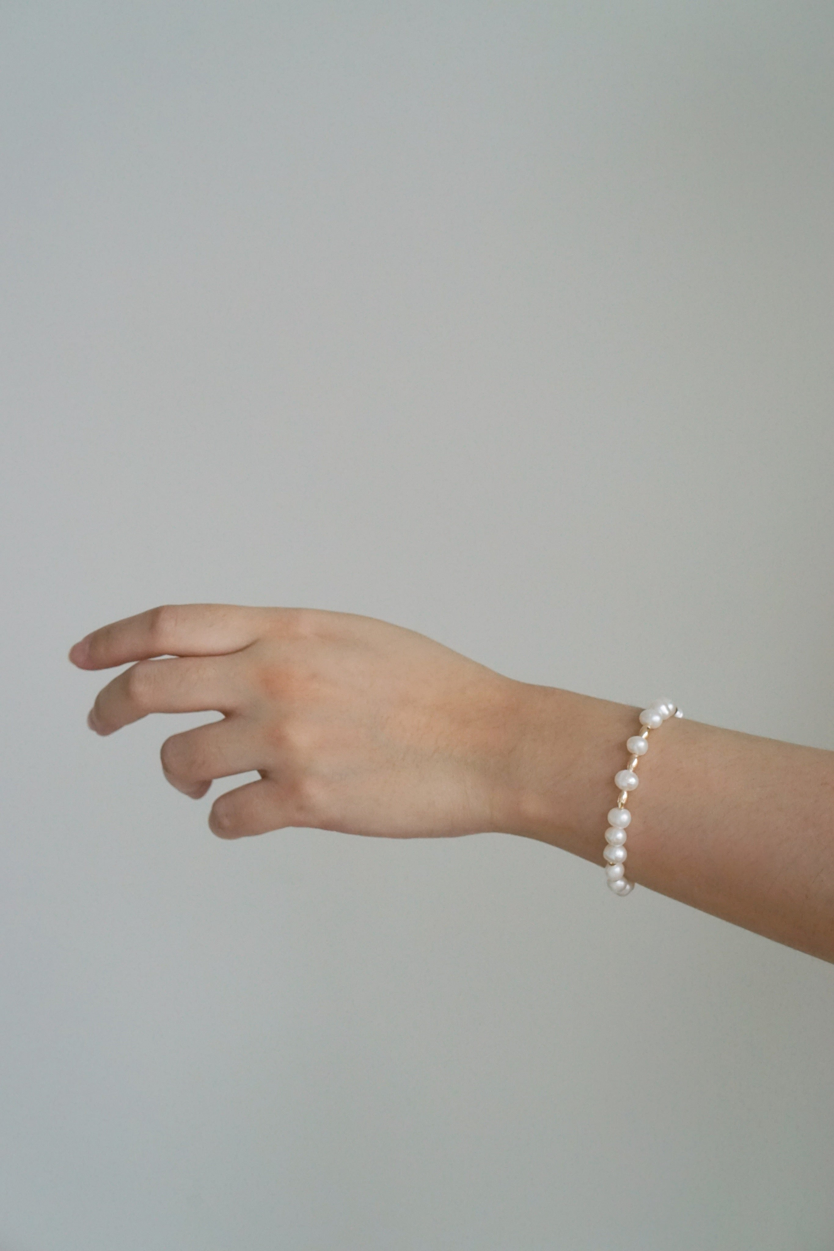 The Morse Code Pearl Bracelet (Personalised)