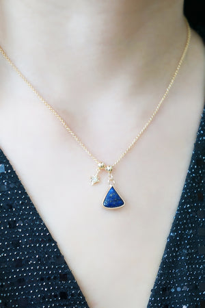 Starlight Multi-Way Necklace (Customisable) - Lapis Lazuli