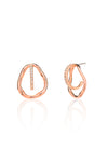 Georgia Three-way Pavé Earrings in Rose Gold