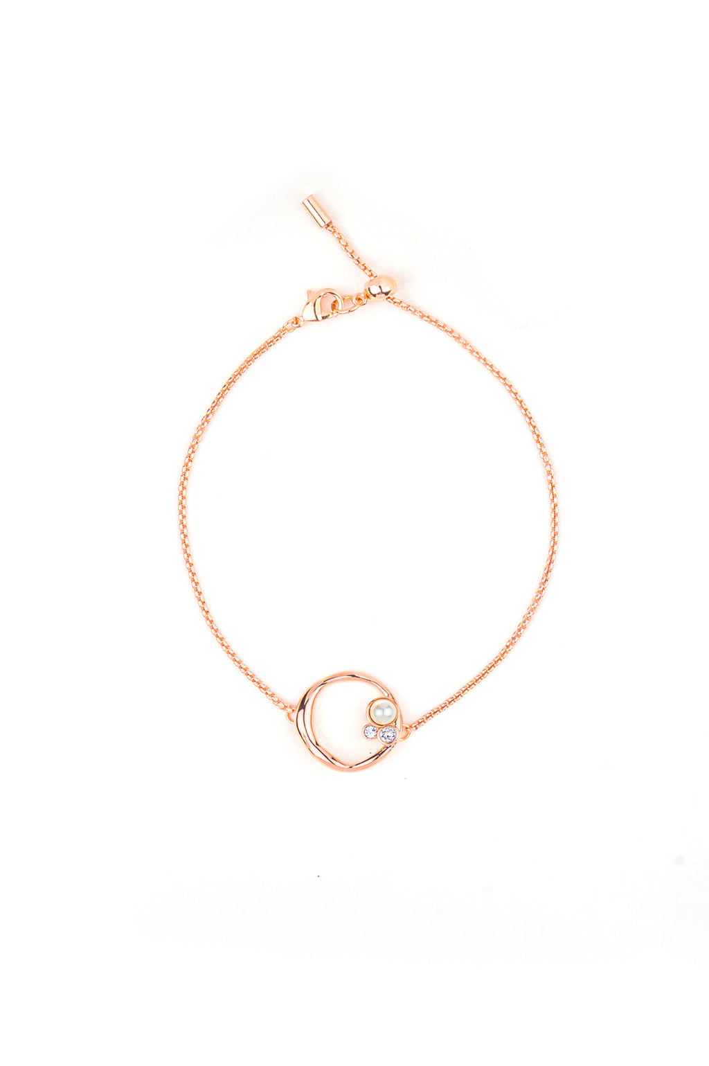Brigitte Bracelet in Rose Gold