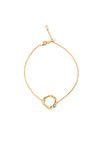 Stevie Bracelet in Gold - Silky Sage Delite