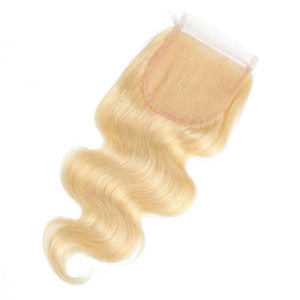 PRETTY BLONDESHELL 5x5 TRANSPARENT LACE CLOSURE