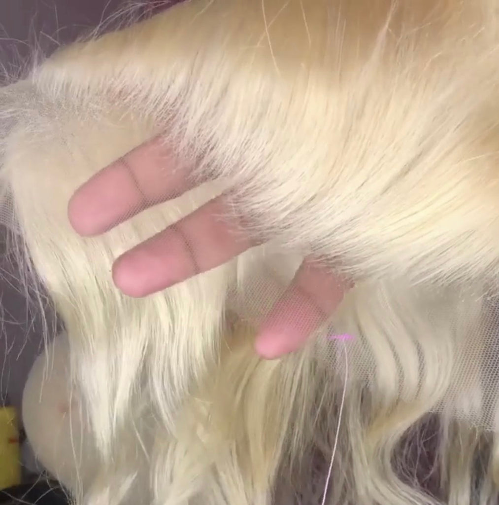 PRETTY BLONDESHELL 13x4 HD LACE FRONTAL
